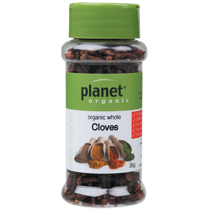 Planet Organic Spices Cloves 35g - Essentially Health Online Vegan Health Store