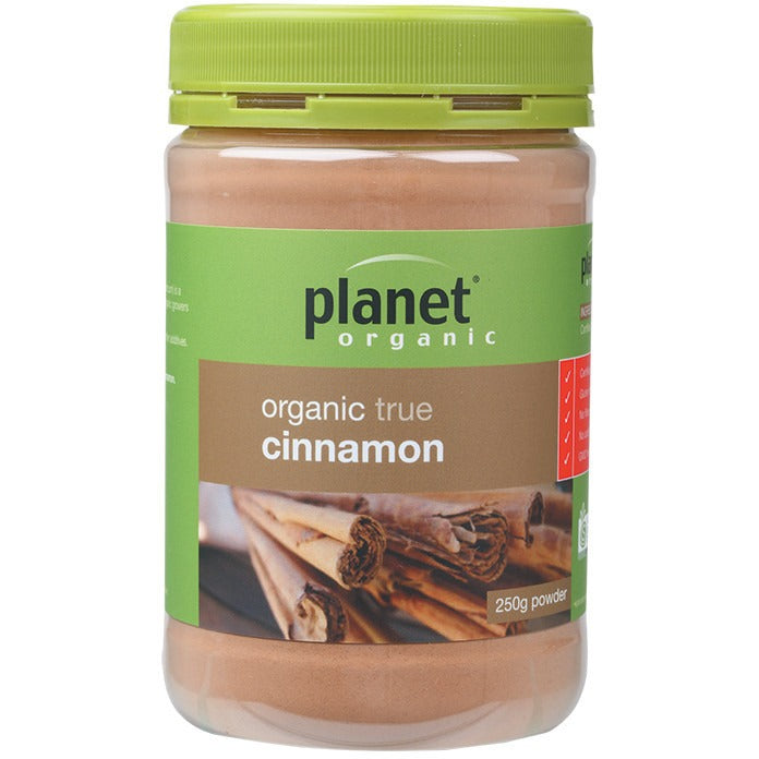 Planet Organic Spices Cinnamon 250g - Essentially Health Online Vegan Health Store Afterpay