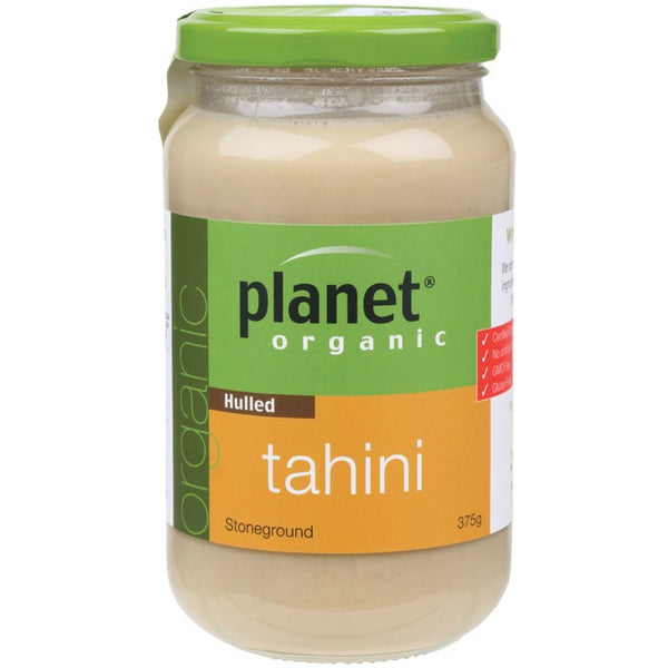 Planet Organic Tahini Hulled 375g - Essentially Health Online Vegan Health Store Afterpay
