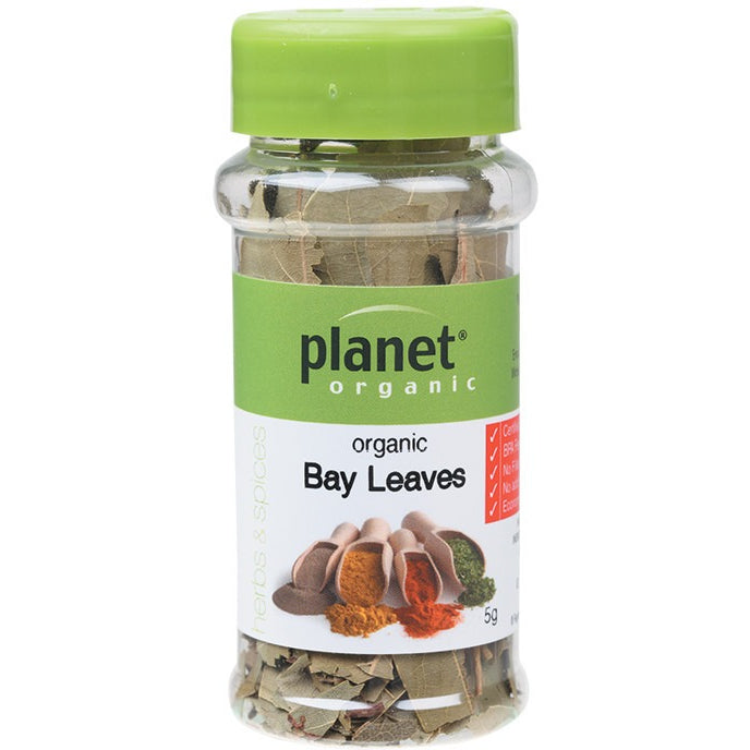 Planet Organic Herbs Bay Leaves 5g - Essentially Health Online Vegan Health Store Afterpay