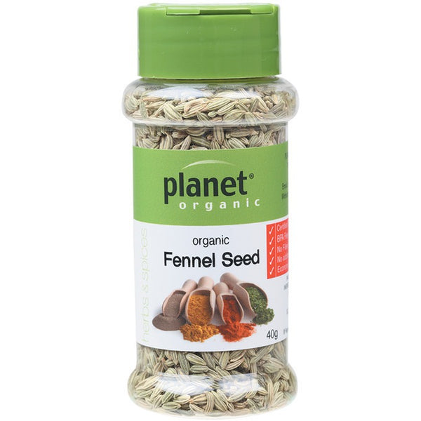 Planet Organic Herbs Fennel Seed 40g - Essentially Health Online Vegan Health Store