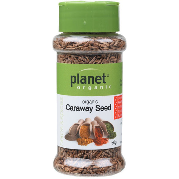 Planet Organic Spices Caraway Seed 50g - Essentially Health Online Vegan Health Store