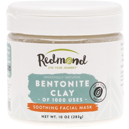 Redmond Clay Bentonite Healing Clay 283g - Essentially Health Online Vegan Health Store