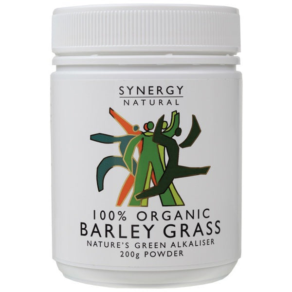 Synergy Organic Barley Grass Powder 200g - Essentially Health Online Vegan Health Store Afterpay