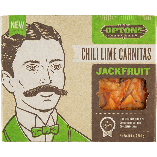 Upton's Naturals Jackfruit Chili Lime Carnitas 300g - Essentially Health Online Vegan Health Store