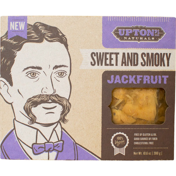 Upton's Naturals Jackfruit Sweet and Smoky 300g - Essentially Health Online Vegan Health Store