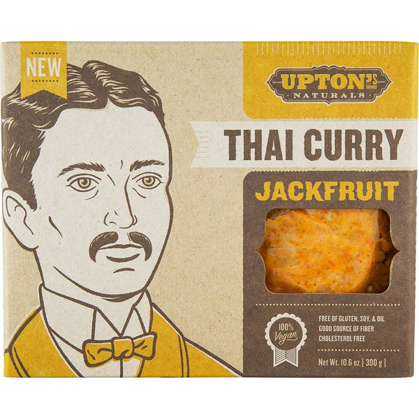 Upton's Naturals Thai Curry Jackfruit - 300g - Essentially Health Online Vegan Health Store
