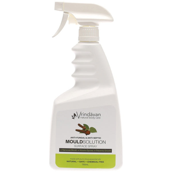 Vrindavan Mould Solution Surface Spray Anti-fungal & Anti-septic 750ml - Essentially Health Online Vegan Health Store