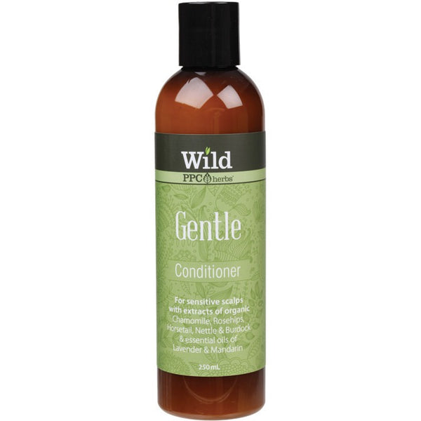 Wild Conditioner Gentle 250ml - Essentially Health Online Vegan Health Store Afterpay