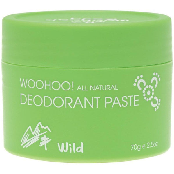 Woohoo Deodorant Wild Extra Strength - 70g - Essentially Health Online Vegan Health Store