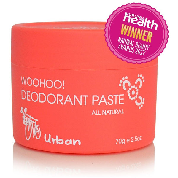 Woohoo! Body All Natural Deodorant Paste 70g - Essentially Health Online Vegan Health Store