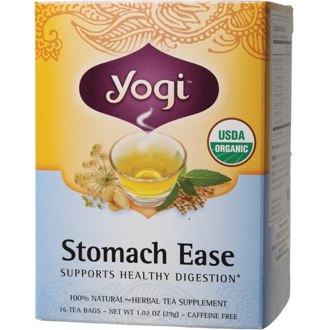 Yogi Tea Herbal Tea Bags Stomach Ease 16 bags - Essentially Health Online Vegan Health Store Afterpay