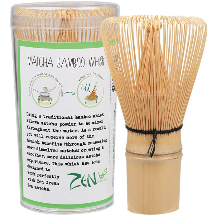 Zen Green Tea Bamboo Whisk Traditional Matcha Utensil - Essentially Health Online Vegan Health Store Afterpay