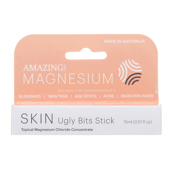 Amazing Oils Ugly Bits Roll-On Stick Magnesium Concentrate 15ml - Essentially Health Online Vegan Health Store Afterpay