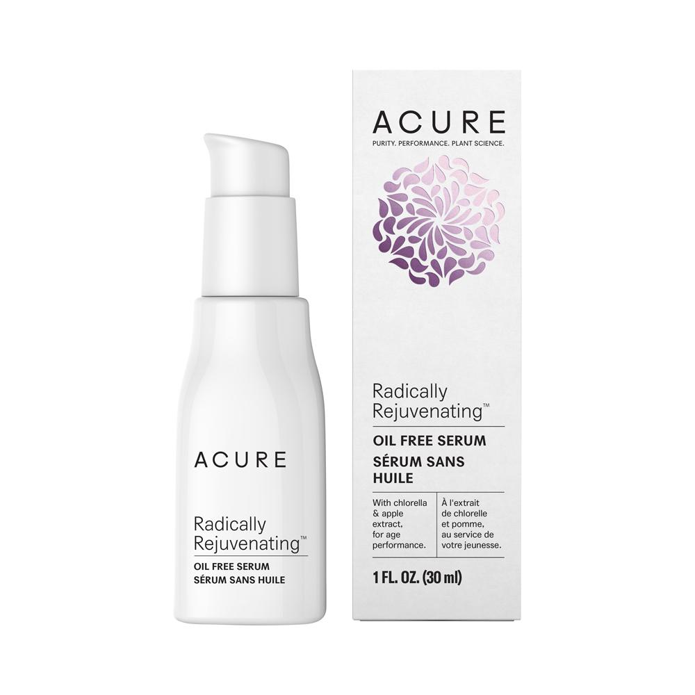Acure Radically Rejuvenating Oil Free Serum 30ml - Essentially Health Online Vegan Health Store Afterpay