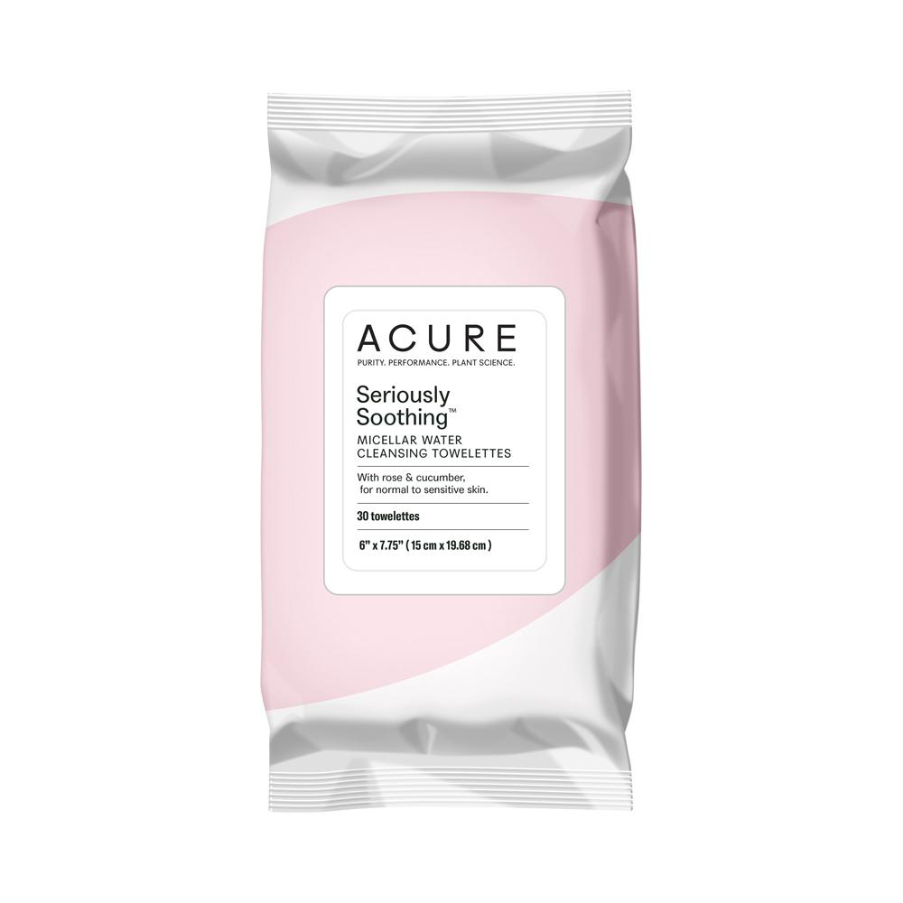 Acure Seriously Soothing Micellar Water Towelettes (30 pack)