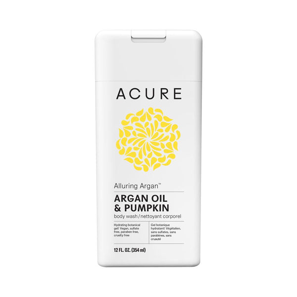 Acure Alluring Argan Body Wash 354ml - Essentially Health Online Vegan Health Store Afterpay