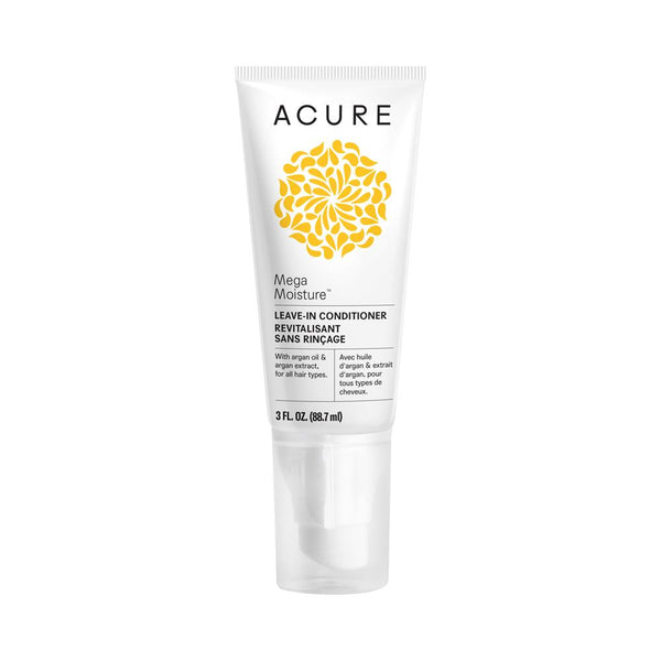 Acure Mega Moisture Leave-in Conditioner 88.7ml - Essentially Health Online Vegan Health Store Afterpay