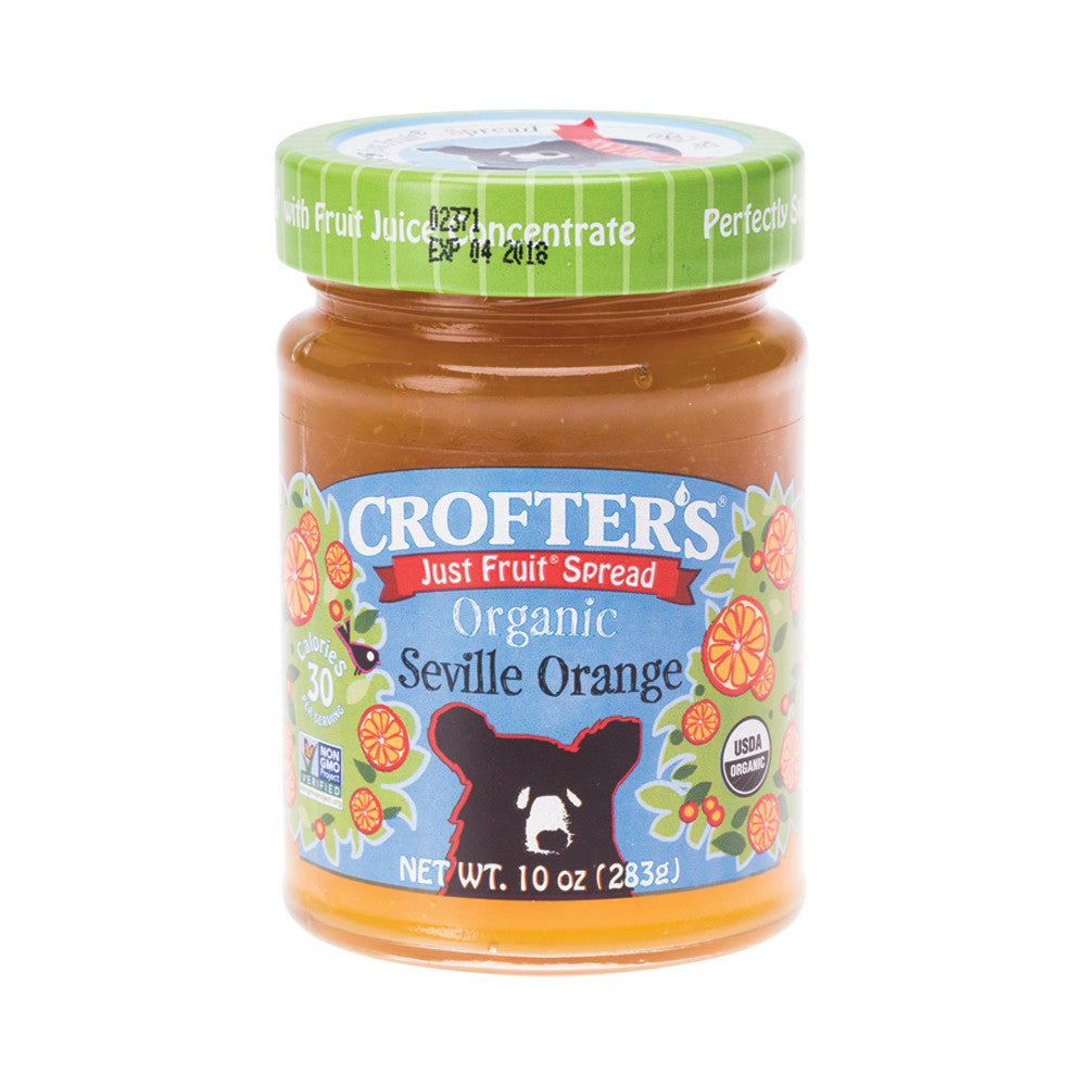 Crofter's Just Fruit Spread Organic Seville Orange -283g - Essentially Health Online Vegan Health Store Afterpay