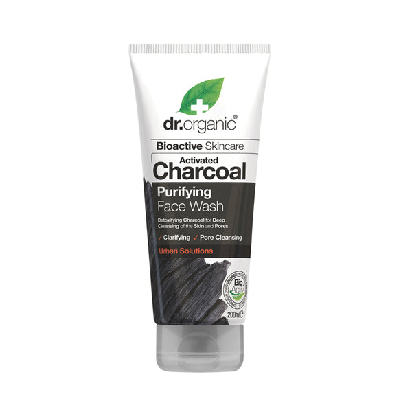 Dr Organic Activated Charcoal Purifying Face Wash 200ml