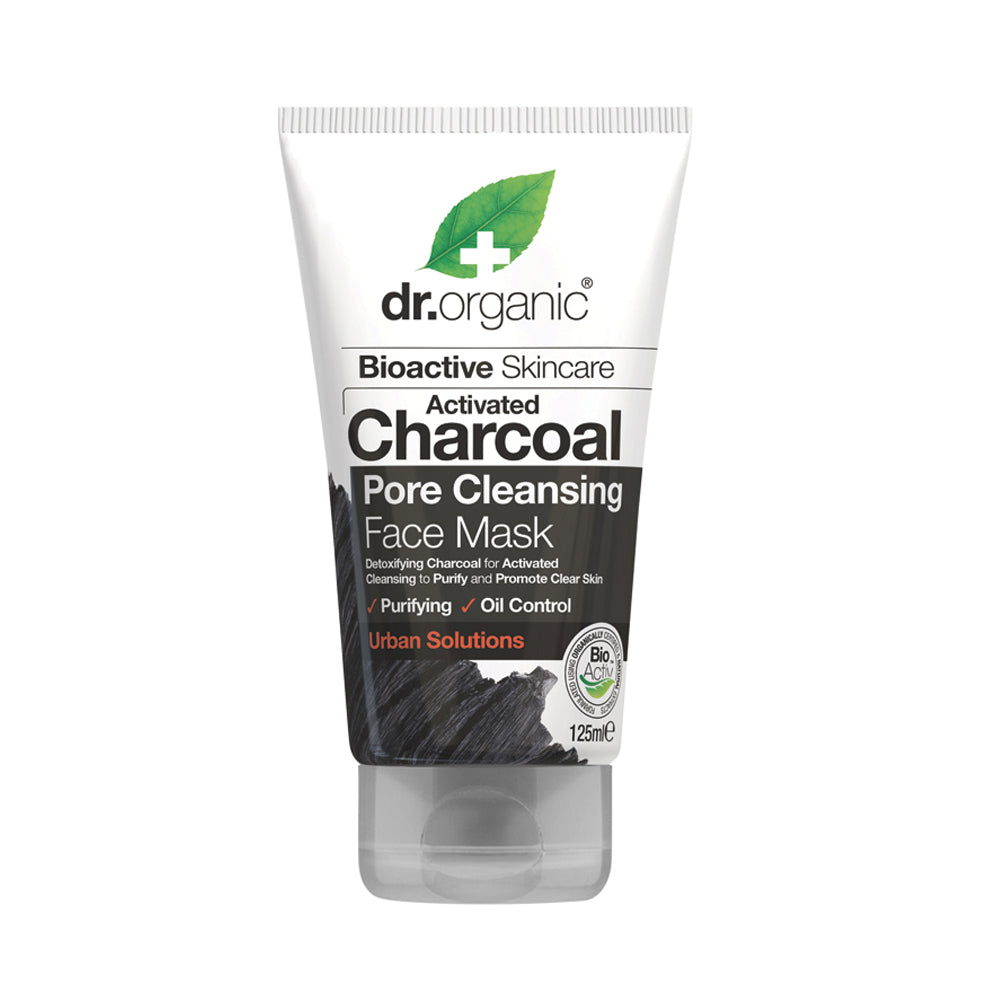 Dr Organic Activated Charcoal Pore Cleansing Face Mask 125ml