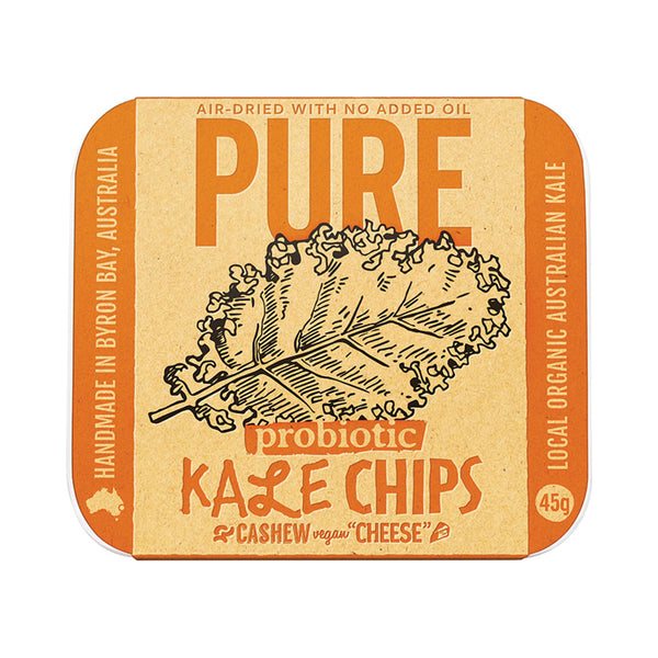 Extraordinary Foods Kale Chips Cashew 'Cheese' 45g - Essentially Health Online Vegan Health Store Afterpay
