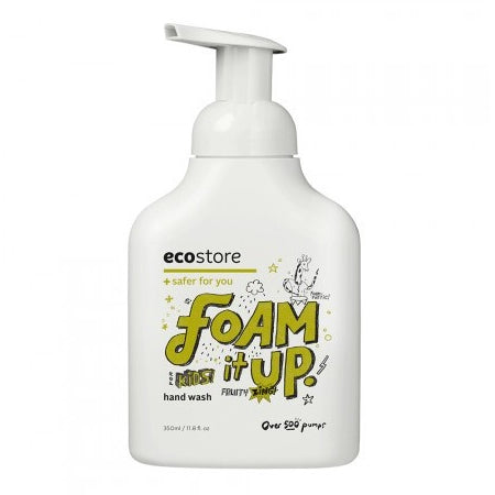 Ecostore Kids Foam it Up Hand Wash Fruity Zing - 350ml - Essentially Health Online Vegan Health Store Afterpay