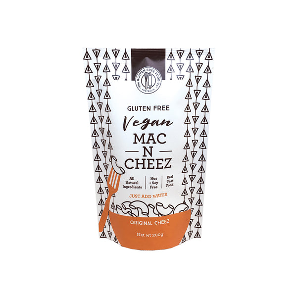 The Gluten Free Food Co Vegan Mac N Cheez Original Cheez 200g