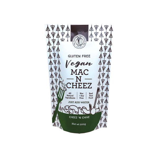 The Gluten Free Food Co Vegan Mac N Cheez - Cheez N Chive 200g