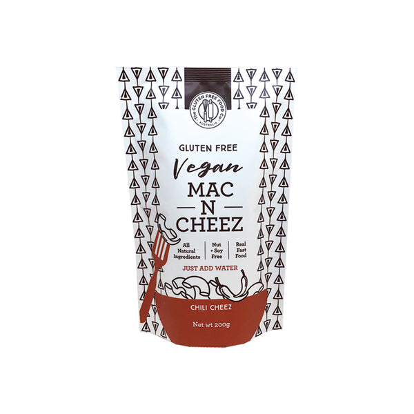 The Gluten Free Food Co Vegan Mac N Cheez - Chilli Cheez 200g