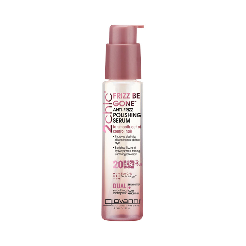 Giovanni Frizz Be Gone Anti Frizz Polishing Hair Serum 81ml - Essentially Health Online Vegan Health Store Afterpay