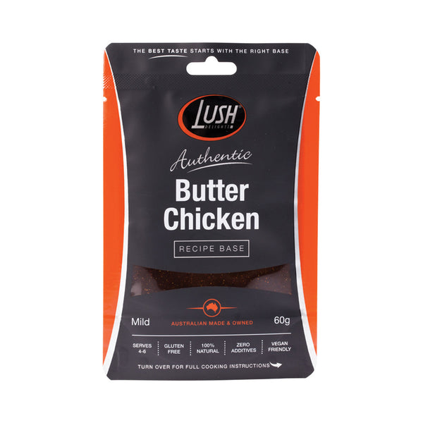 Lush Delights Butter 'Chicken' Mild Recipe Base - 60g - Essentially Health Online Vegan Health Store Afterpay