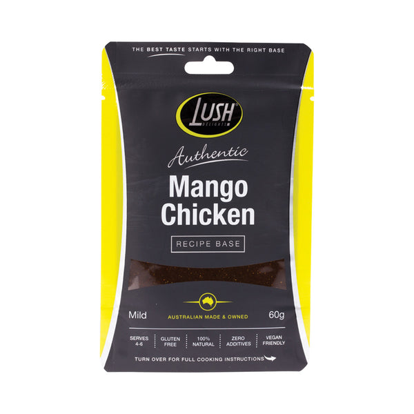 Lush Delights Mango 'Chicken' Mild Recipe Base - 60g