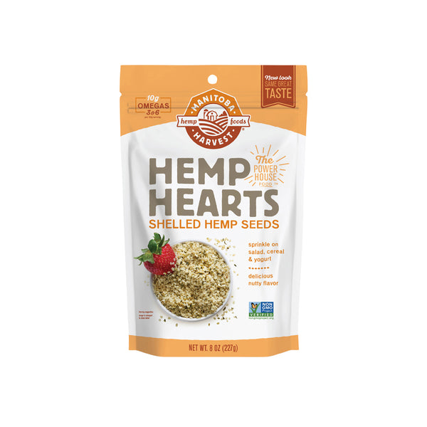 Manitoba Harvest Hemp Hearts - Shelled Hemp Seeds 227g