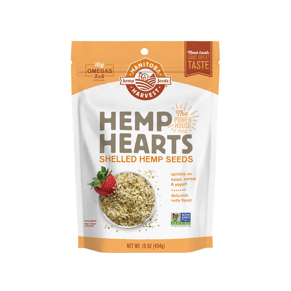 Manitoba Harvest Hemp Hearts - Shelled Hemp Seeds 454g