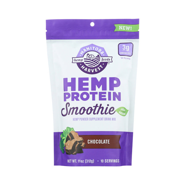 Manitoba Harvest Hemp Protein Smoothie Mix Chocolate 312g