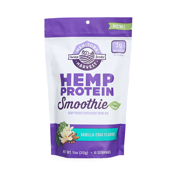 Manitoba Harvest Hemp Protein Smoothie Mix Vanilla Chai 312g