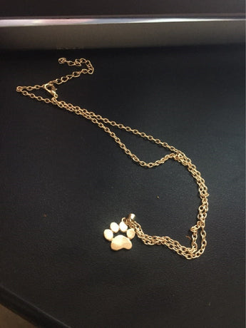German Shepherd Paw Necklace - FREE Shipping