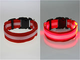 German Shepherd Lighted LED Dog Collar - FREE Shipping