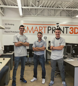 Congratulations to Jacob and Ryan on joining the SmartPrint3D team.