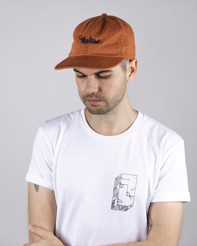Five Lines 'Shredder' Cap - Orange