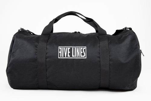 Five Lines 'Duffel Bag' - Black