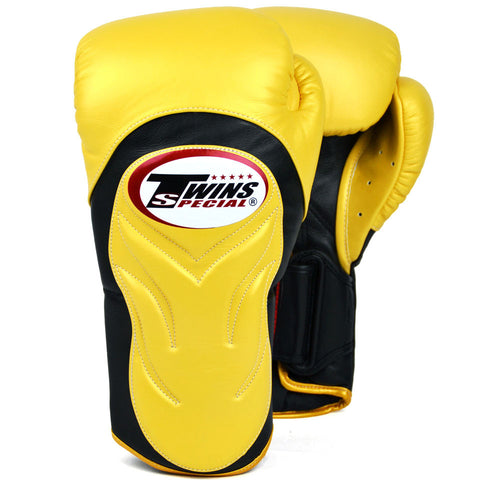 Yellow Twins Special New Style Sparring Boxing Gloves (BGVL-6)