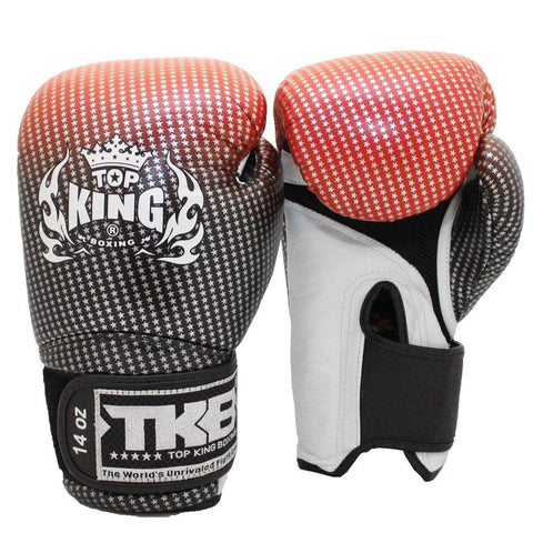 Red Top King Superstar Air Boxing Gloves