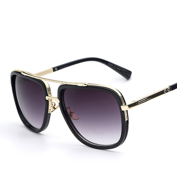 Large Frame Retro Vintage Fashion Sunglasses - primatrends.com