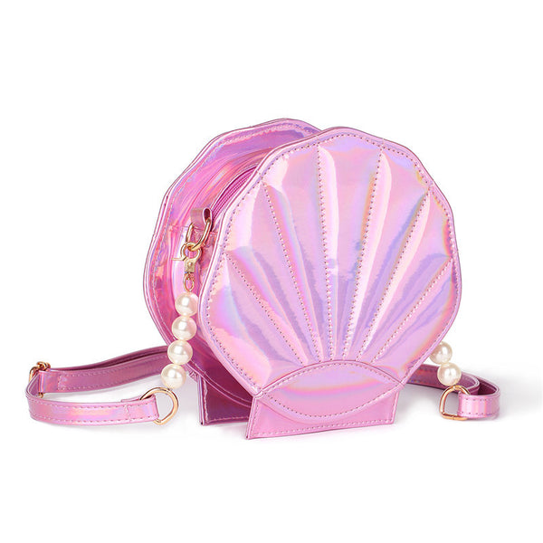 Sea Shell Vegan Leather Handbag - primatrends.com