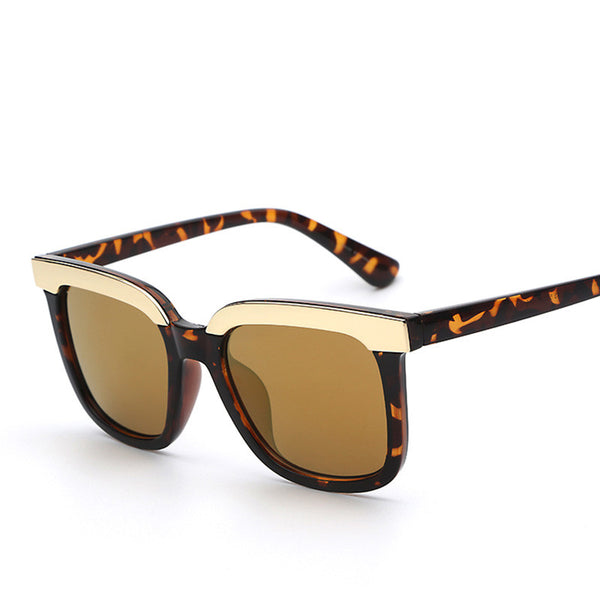 Square Lens Retro Vintage Fashion Sunglasses - primatrends.com