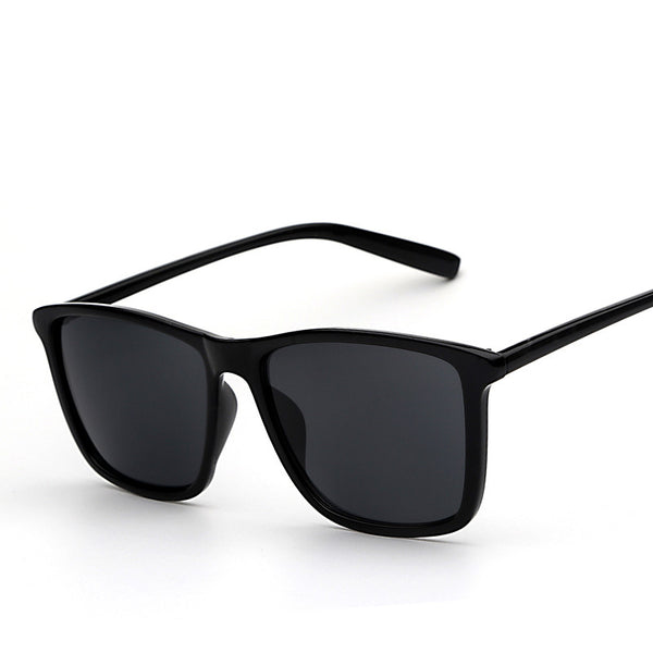 Oversized Square Shade Retro Vintage Fashion Sunglasses - primatrends.com
