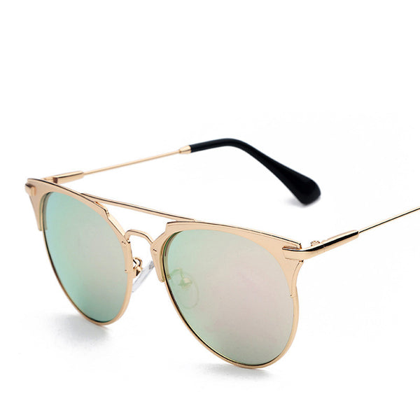 Metal Frame Aviator Retro Vintage Fashion Sunglasses - primatrends.com