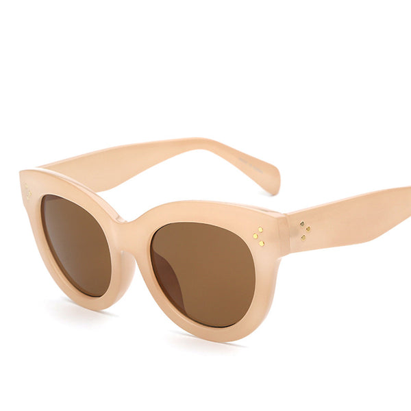 Lady Cat Eyes Retro Vintage Fashion Sunglasses - primatrends.com